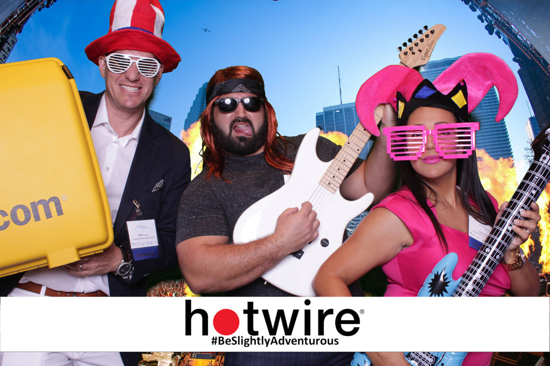 Photo Booth for a Corporate Event in Miami
